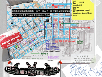 Similiar Map Of The Seattle Underground Keywords