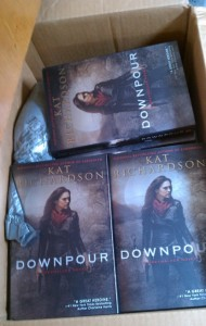 Boxload of Downpour hardcover